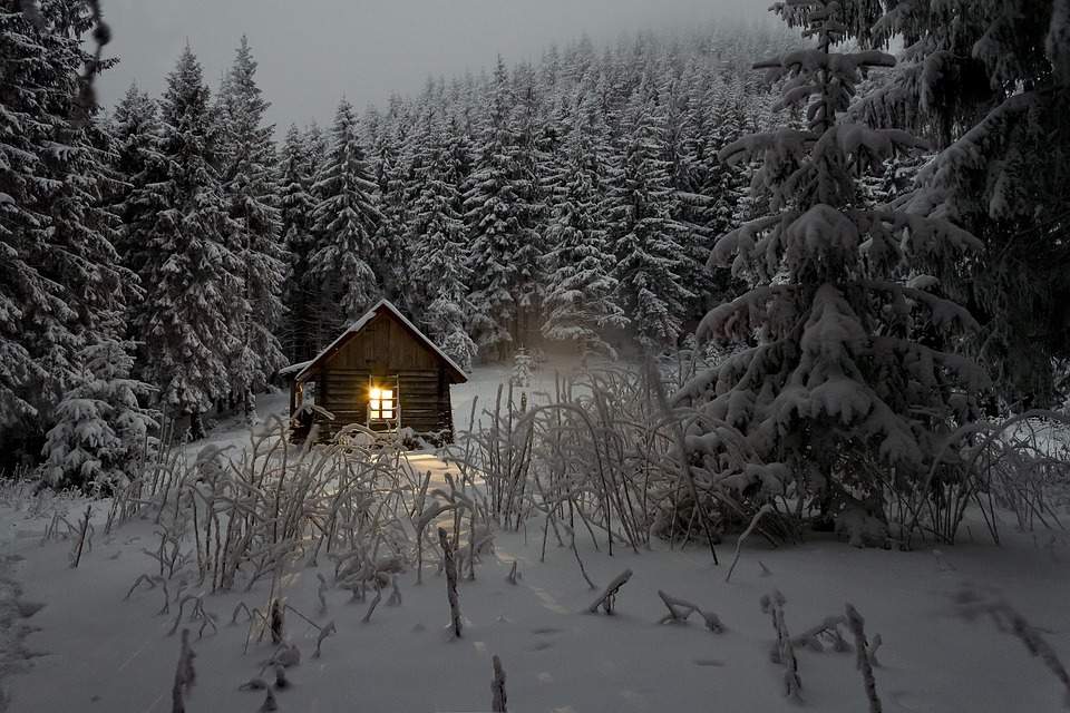 chalupa, sneh