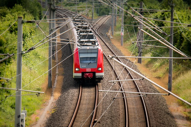 červený vlak