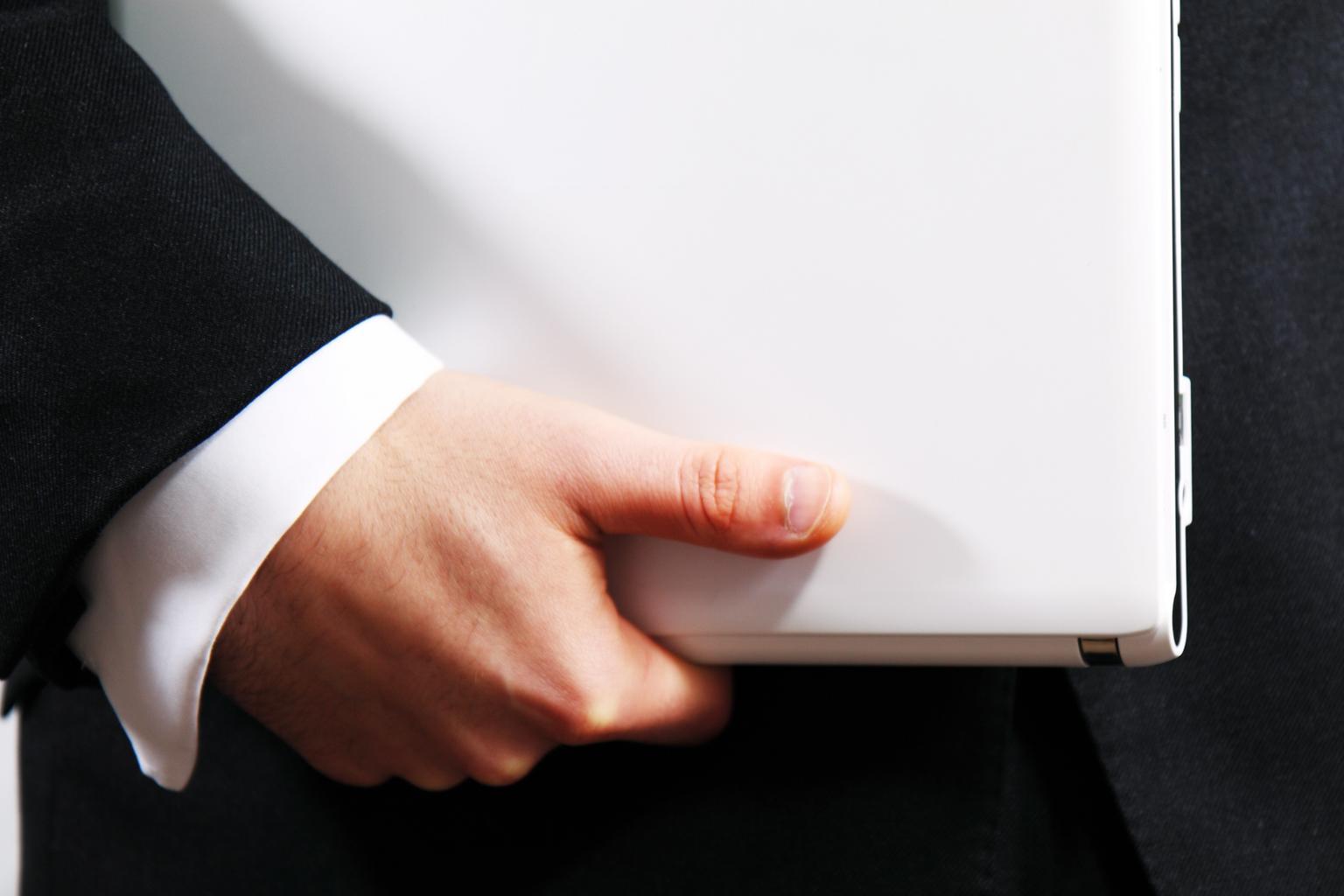 podnikateľ, notebook