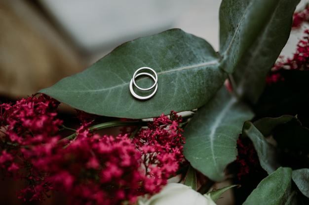 precious-beautiful-engagement-silver-rings-put-flower-leaf_181624-25715