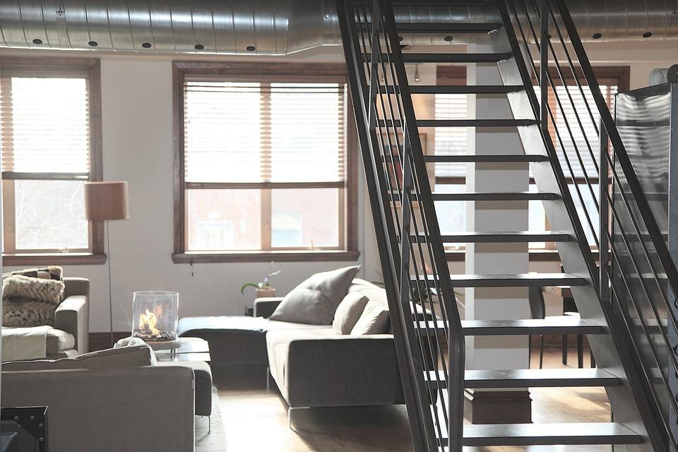 schody, bývanie